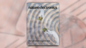 """Collage: Titelcover """"Nature Electronics"""" (03/2020)"""